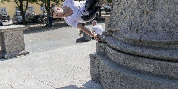 Parkour in Stuttgart