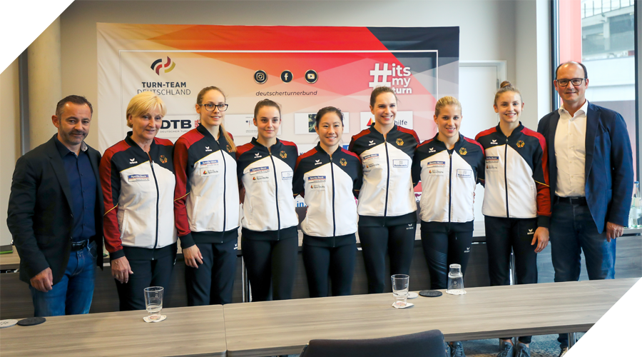 press conference women team germany